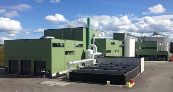 Oslo's biowaste plant with thermal hydrolysis